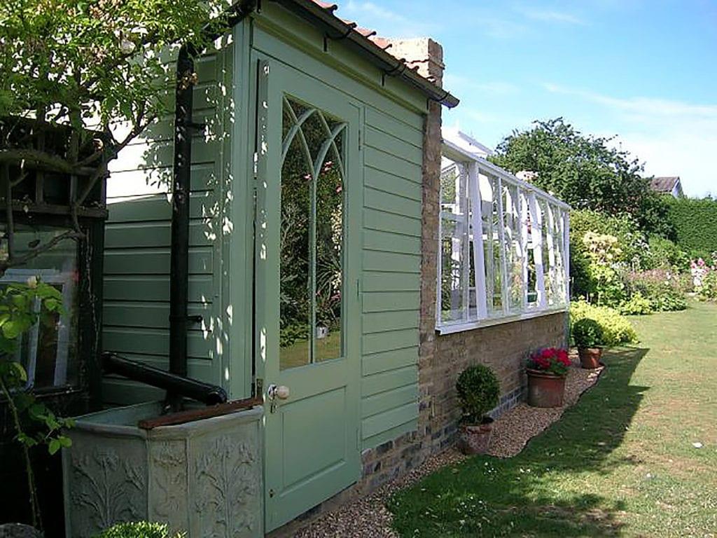 Greenhouse in London garden