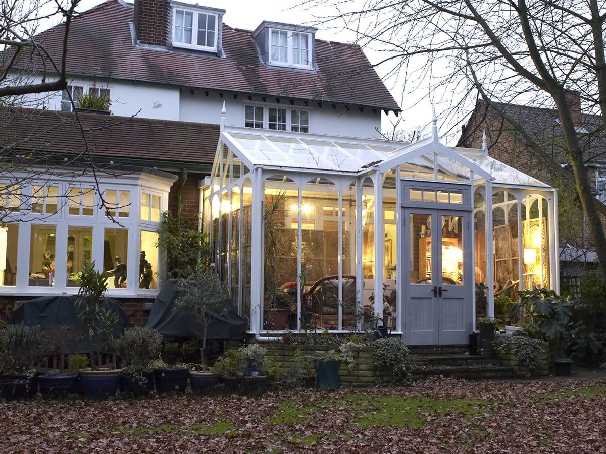 Greenhouse garden room
