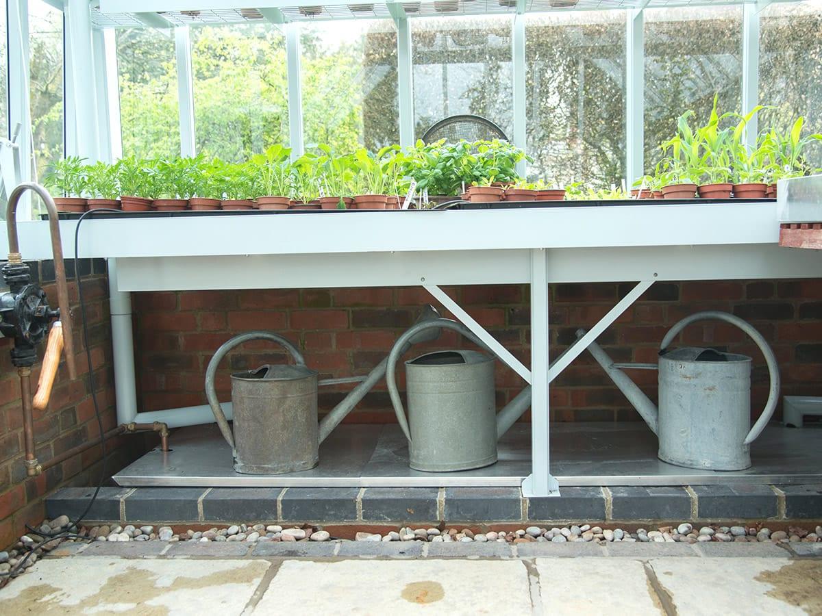 Internal water storage