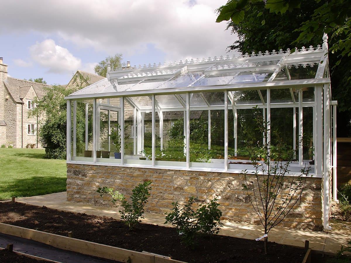 Traditional bespoke greenhouse