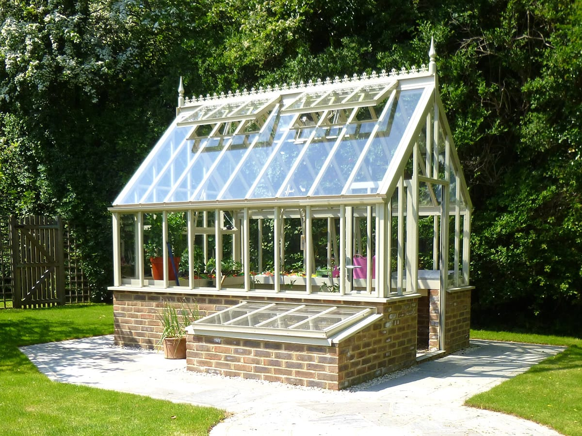 National Garden Scheme (NGS) greenhouse Sorrel