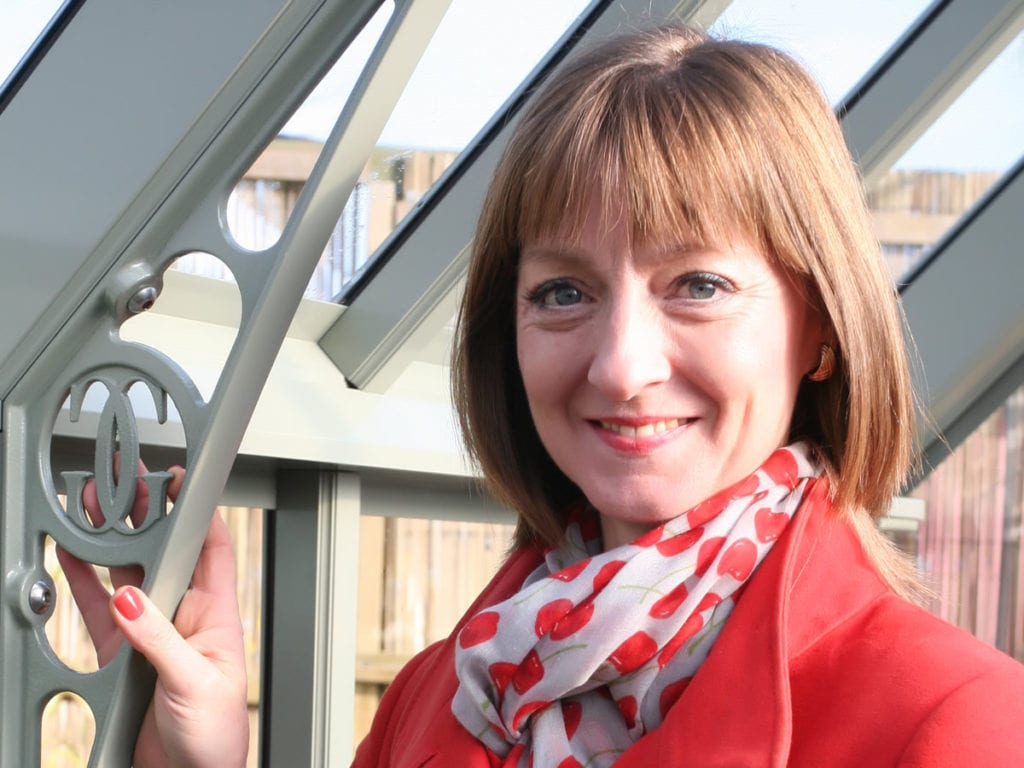Linda Lane, Managing Director Griffin Glasshouses, Hampshire
