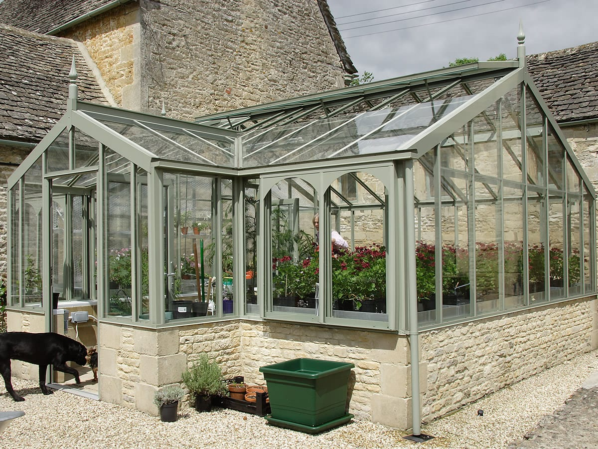 The perfect glasshouse designed for you