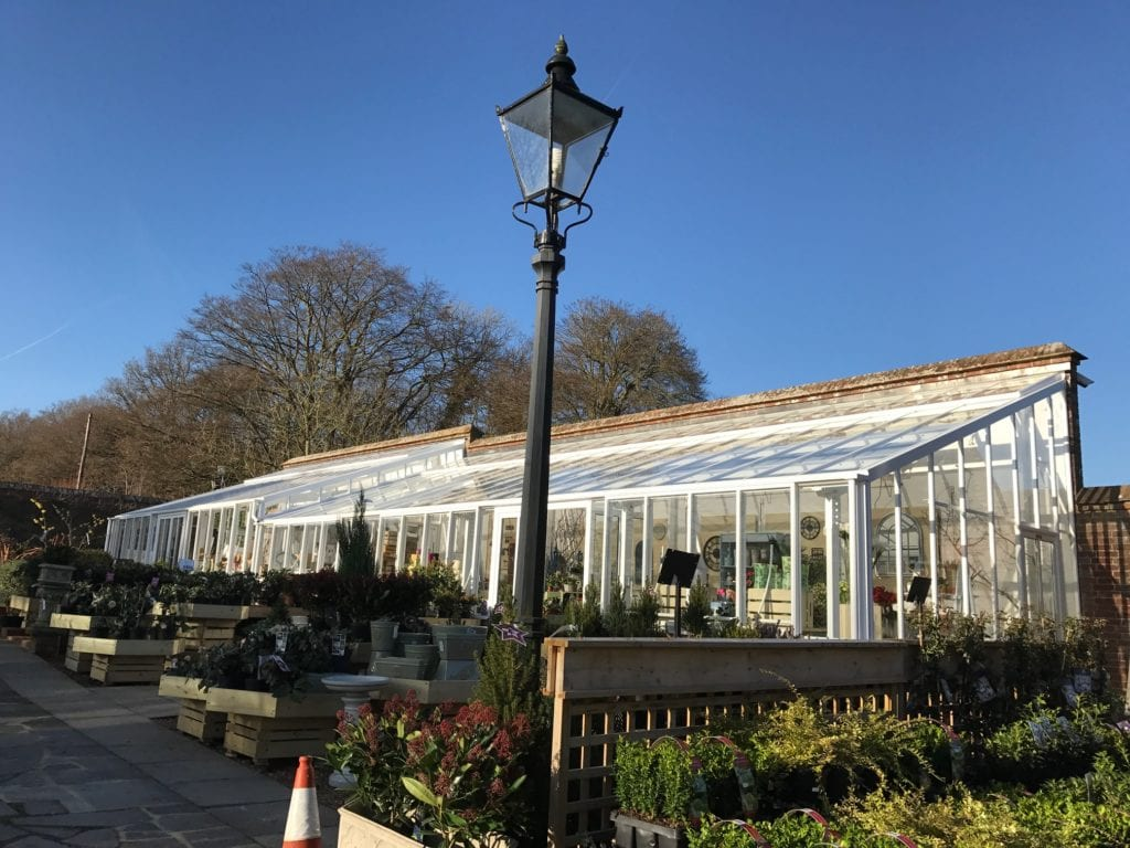 New greenhouse at Orchard Nursery, East Grinstead, West Sussex