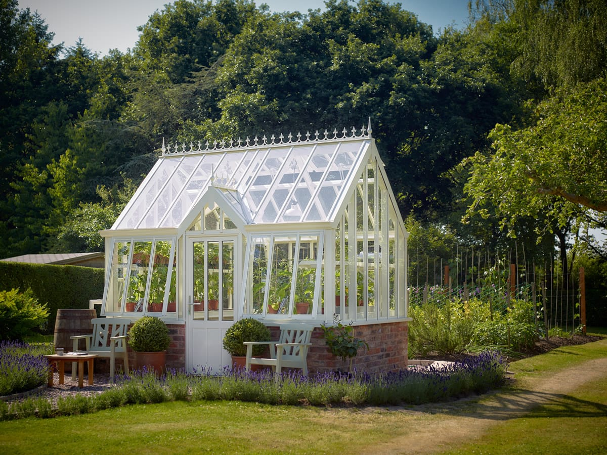 National Garden Scheme NGS Thyme Greenhouse